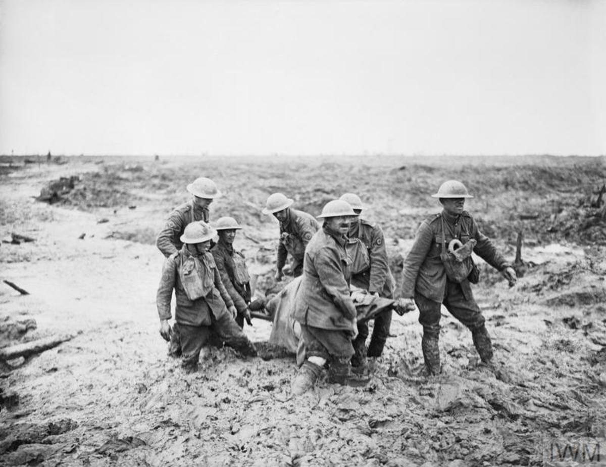 The mud of Passchendaele.