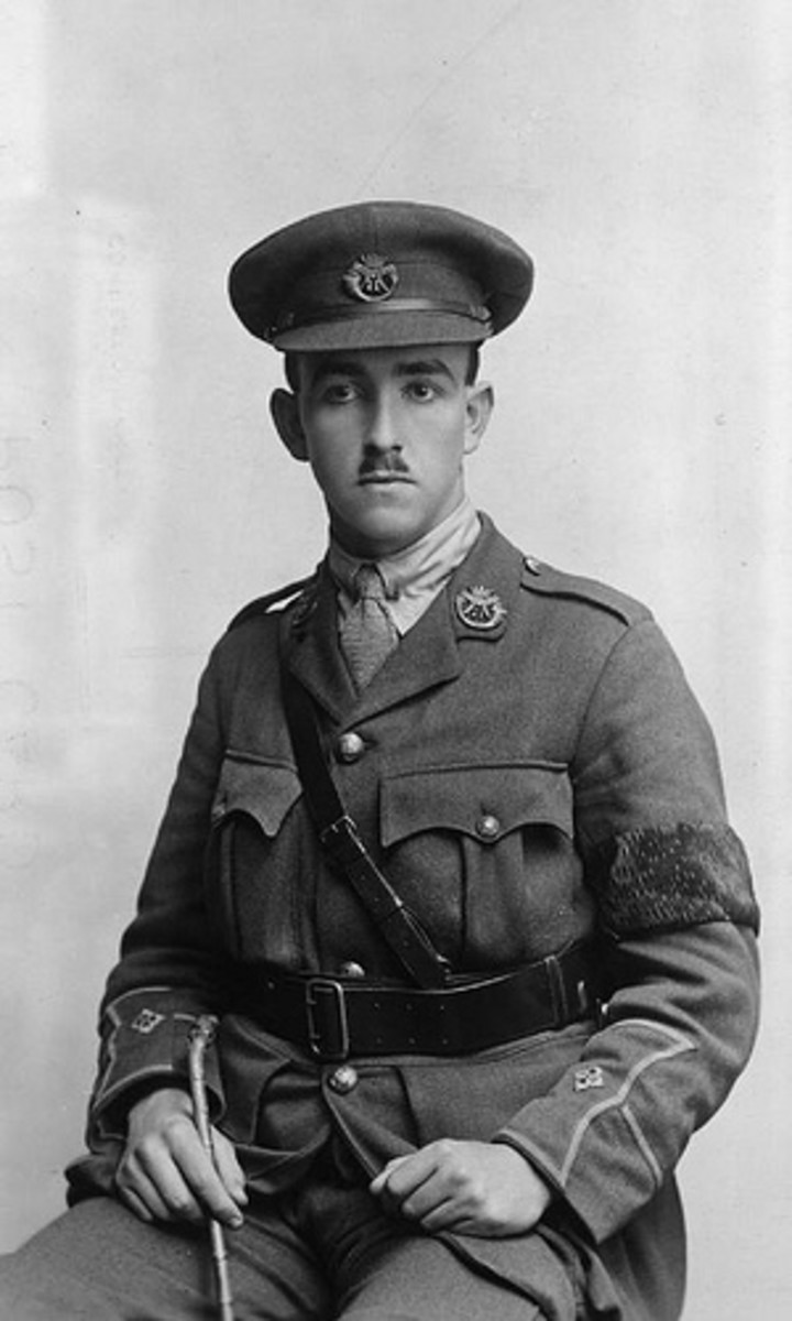 Second Lieutenant Lloyd Allison Williams of Kingswood School, Bath. Killed by shellfire, aged 22, in July 1916.