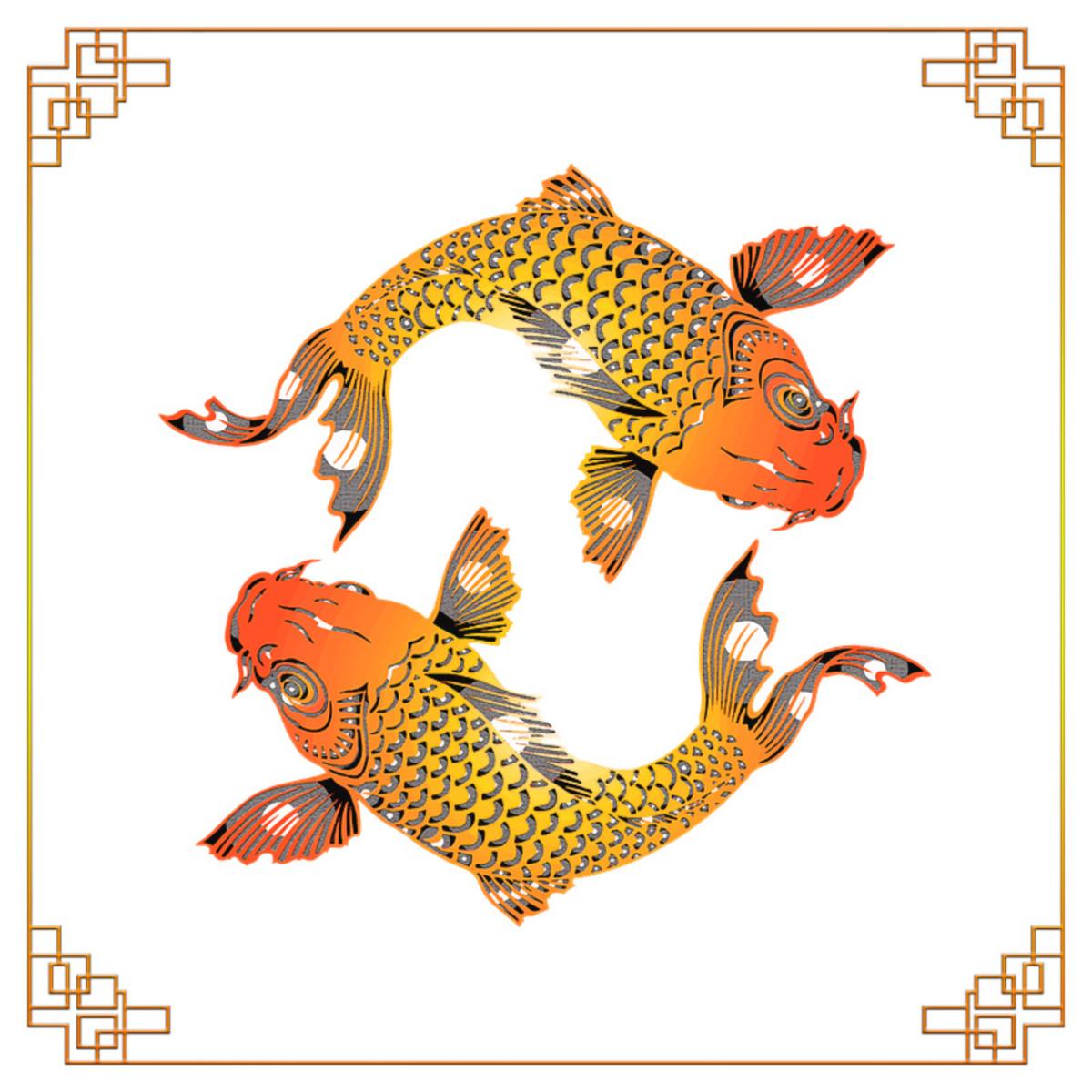 Chinese carps. An aspiration for abundance.