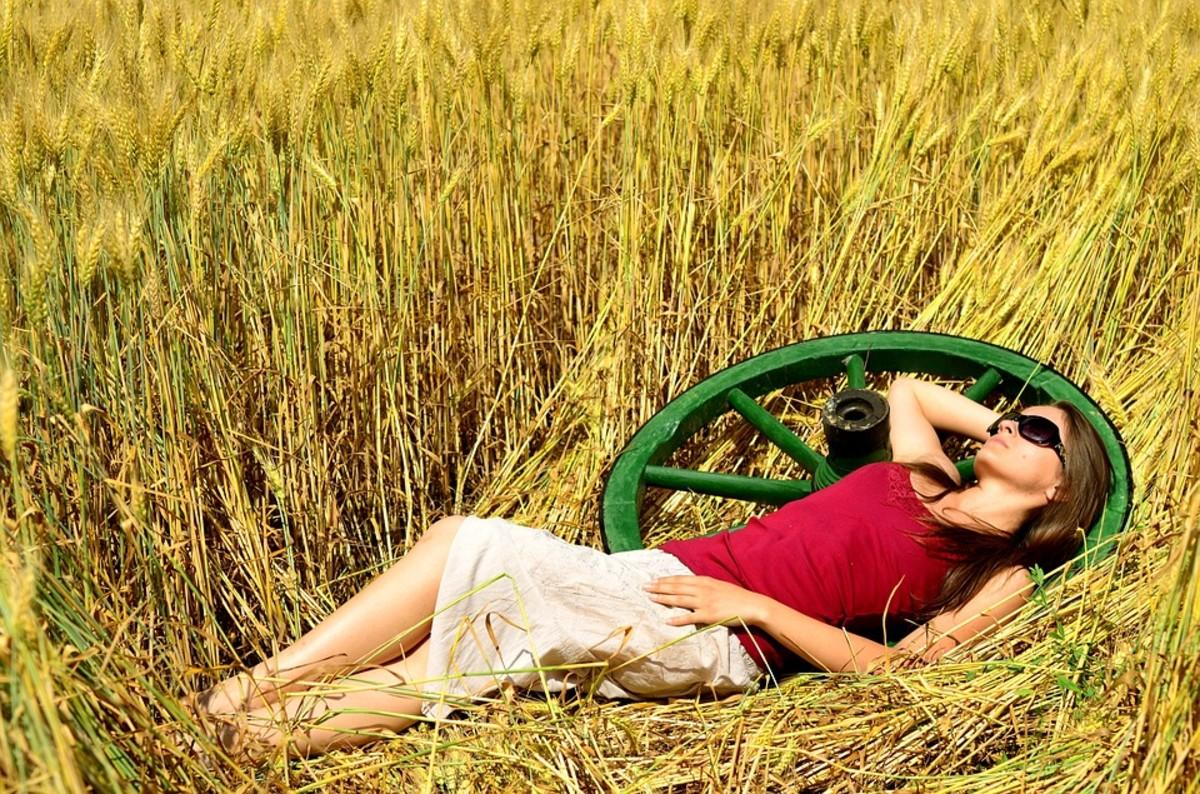 """I am the sunlight on ripened grain"""
