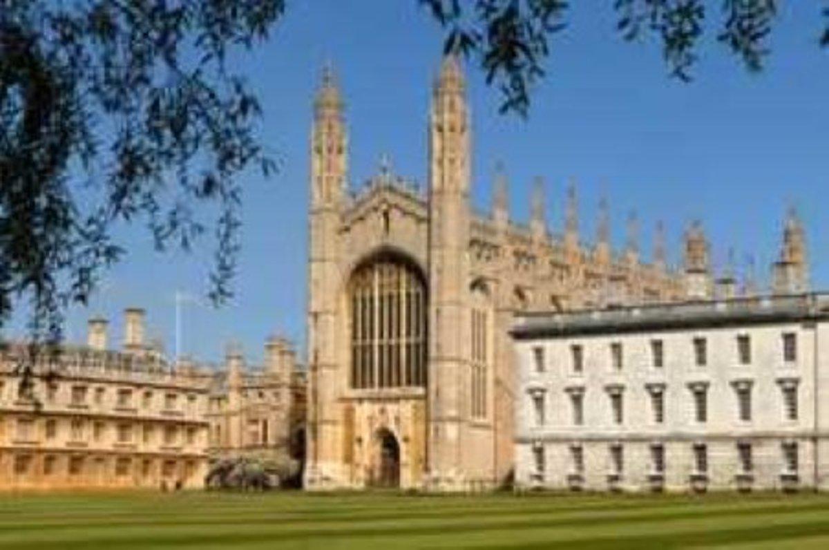 Cambridge University.