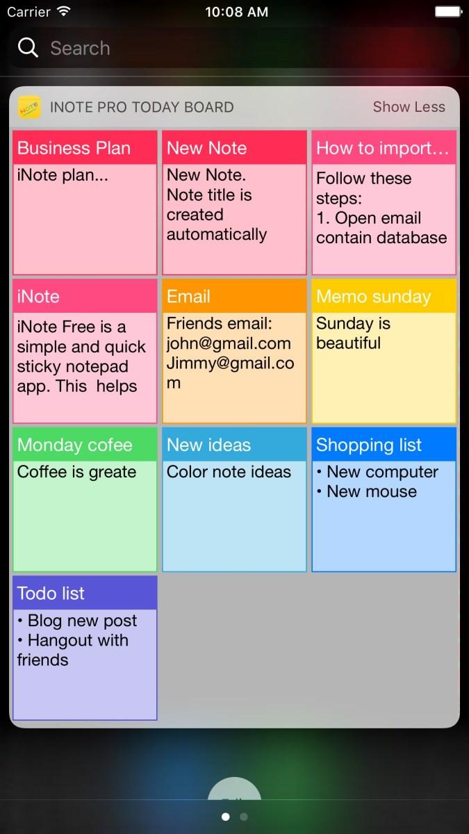 A simple list-making app