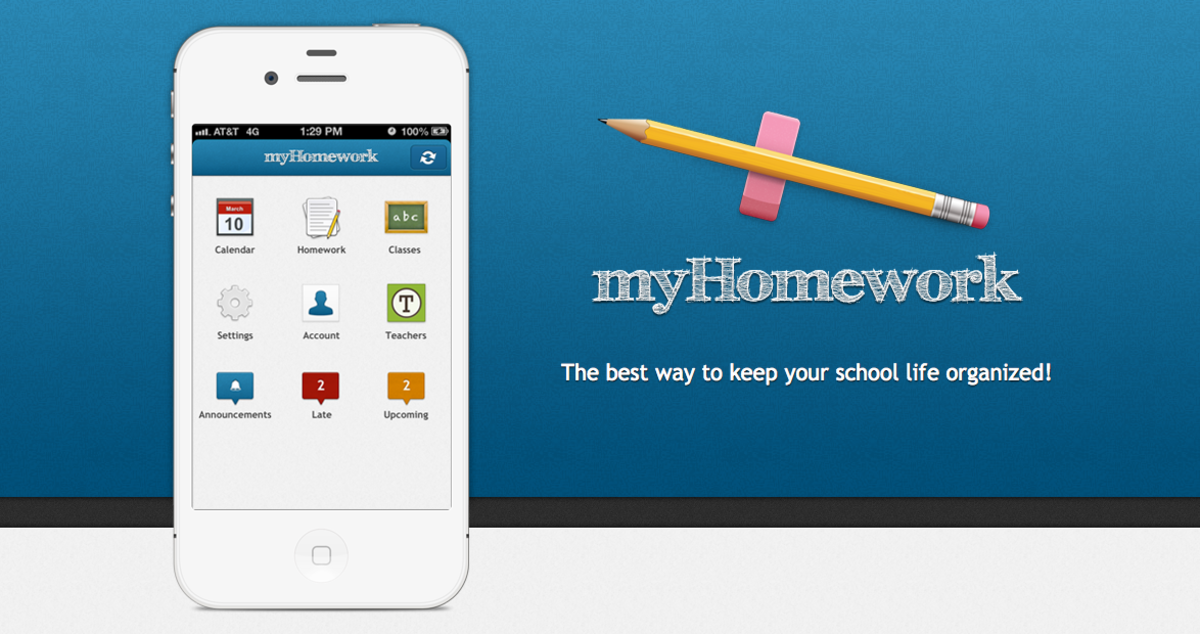 This app helps me organize my classes and homework seamlessly.