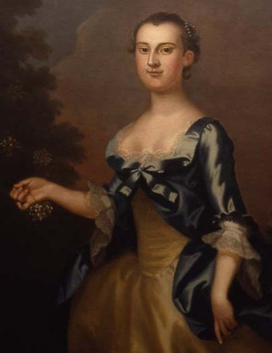 The first First Lady of the United States, Martha Washington.