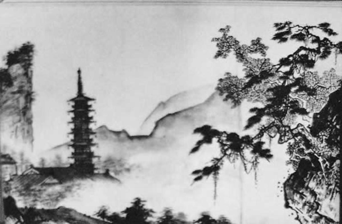 Sesshu Painting