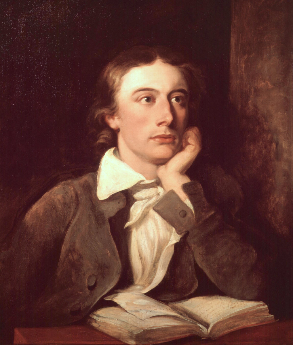 威廉·希尔顿国家肖像画廊的约翰·济慈