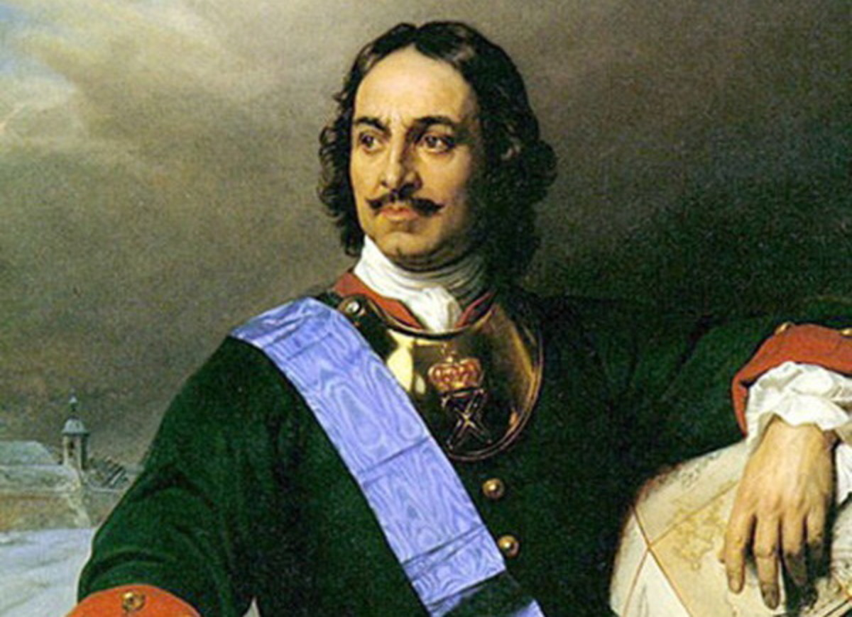 Portrait of Tsar Peter the Great of Russia