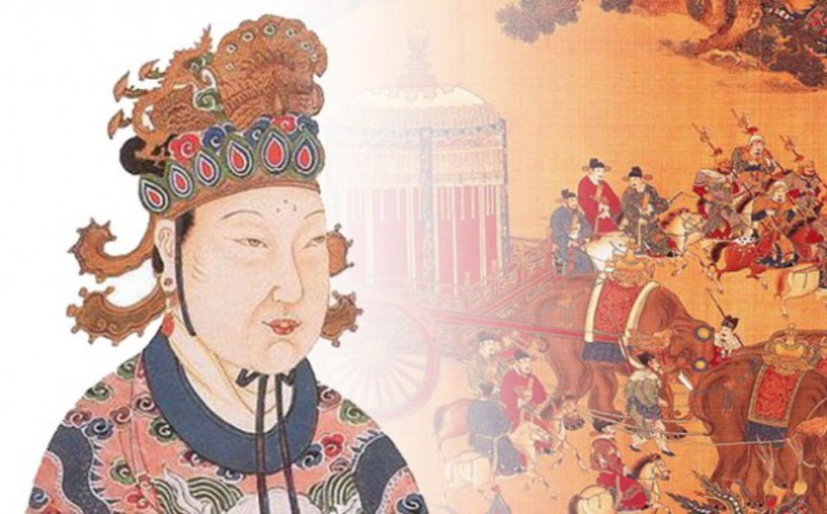 Practitioner of filicide, Empress Wu Zentian