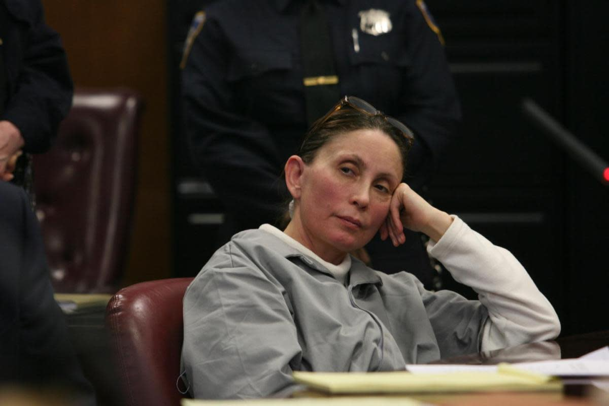 Pharmaceuticals executive Gigi Jordan on trial for the death of her young son