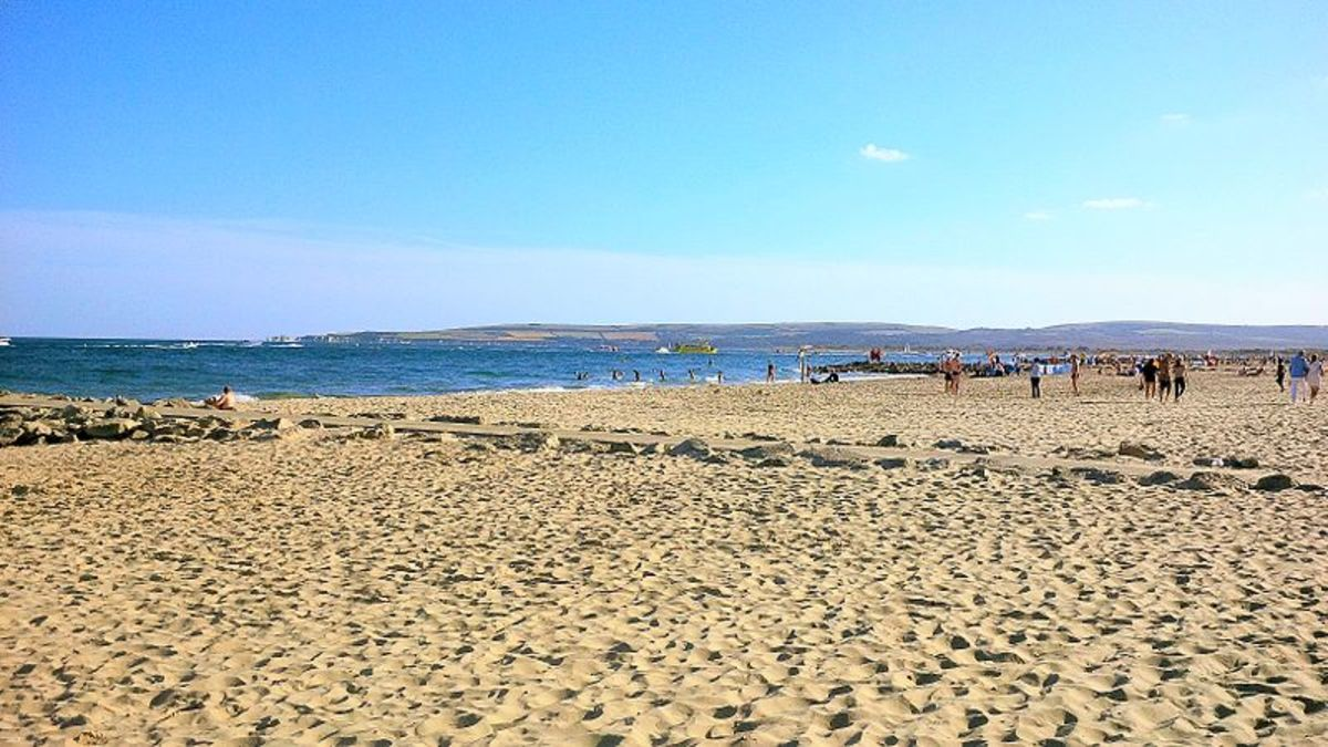 Sandbanks Beach, Poole, Dorset