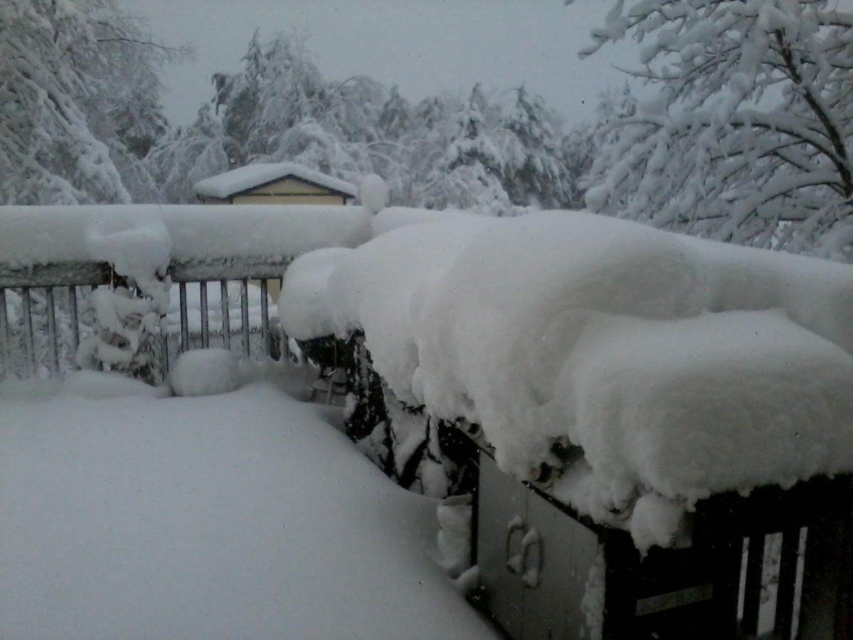 This early November Appalachian snowstorm was attributed to winds wrapping around the north side of Hurricane Sandy