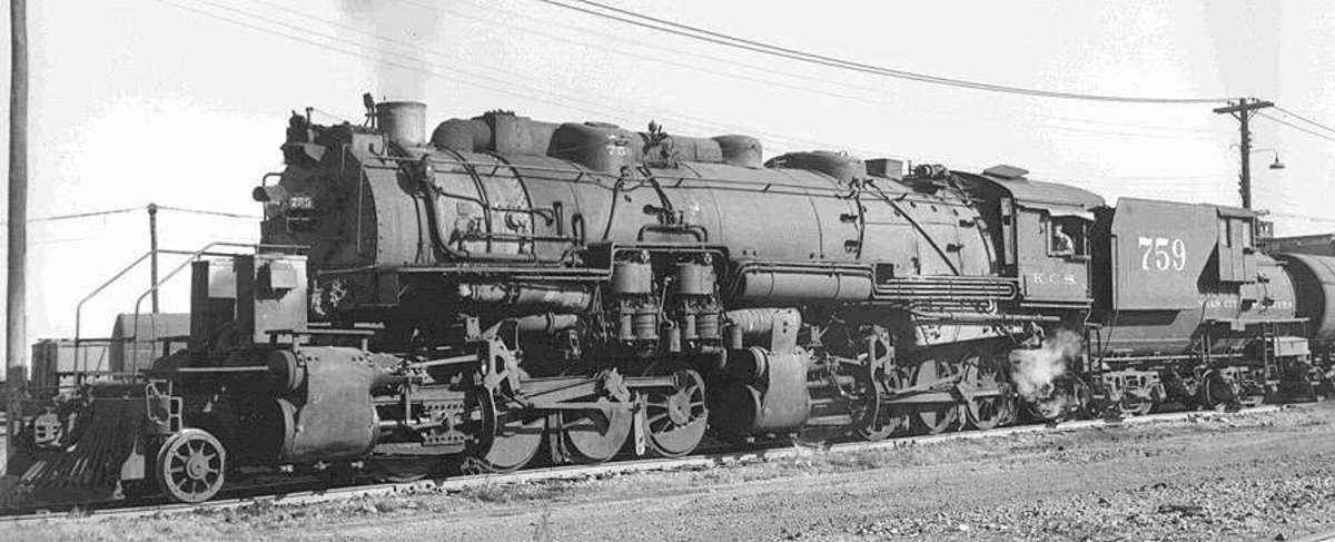 KCS Locomotive