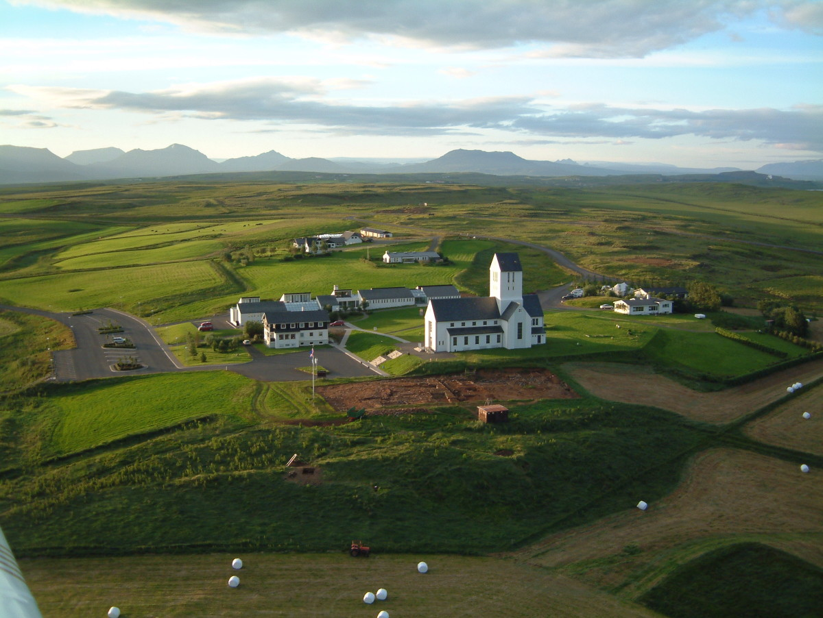 Site of the first Christian Church in Iceland