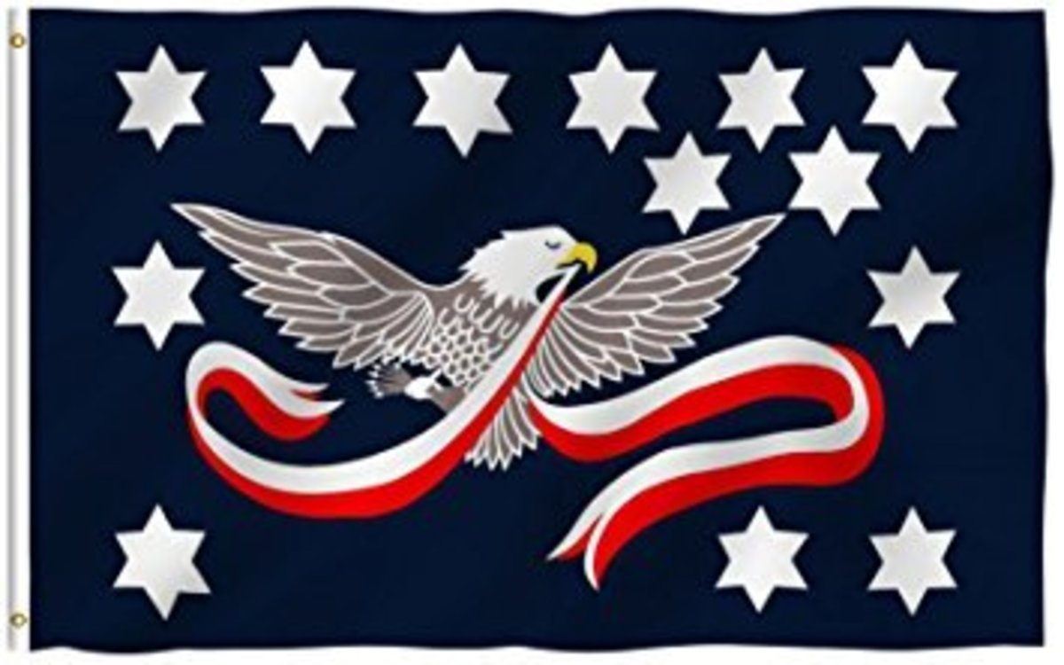 The Whiskey Rebellion even had its own flag