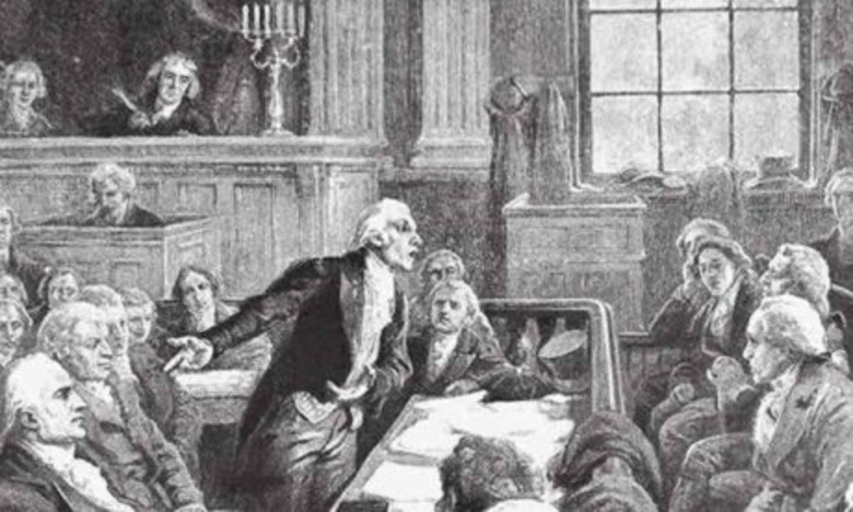 The trial of Aaron Burr brought together some of the finest lawyers in the country to argue the case—where the right of due process and protection for the rule of law were at stake.
