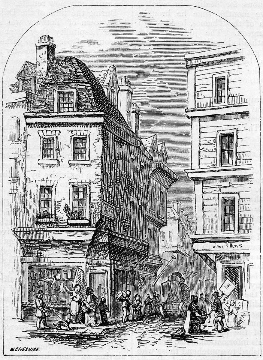 Grub Street in the 19th century.
