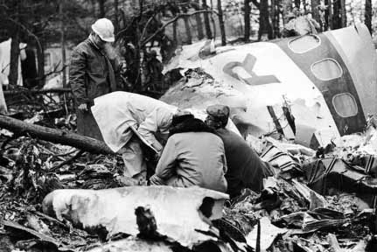 Southern Airways Flight 932 Aircraft Wreckage