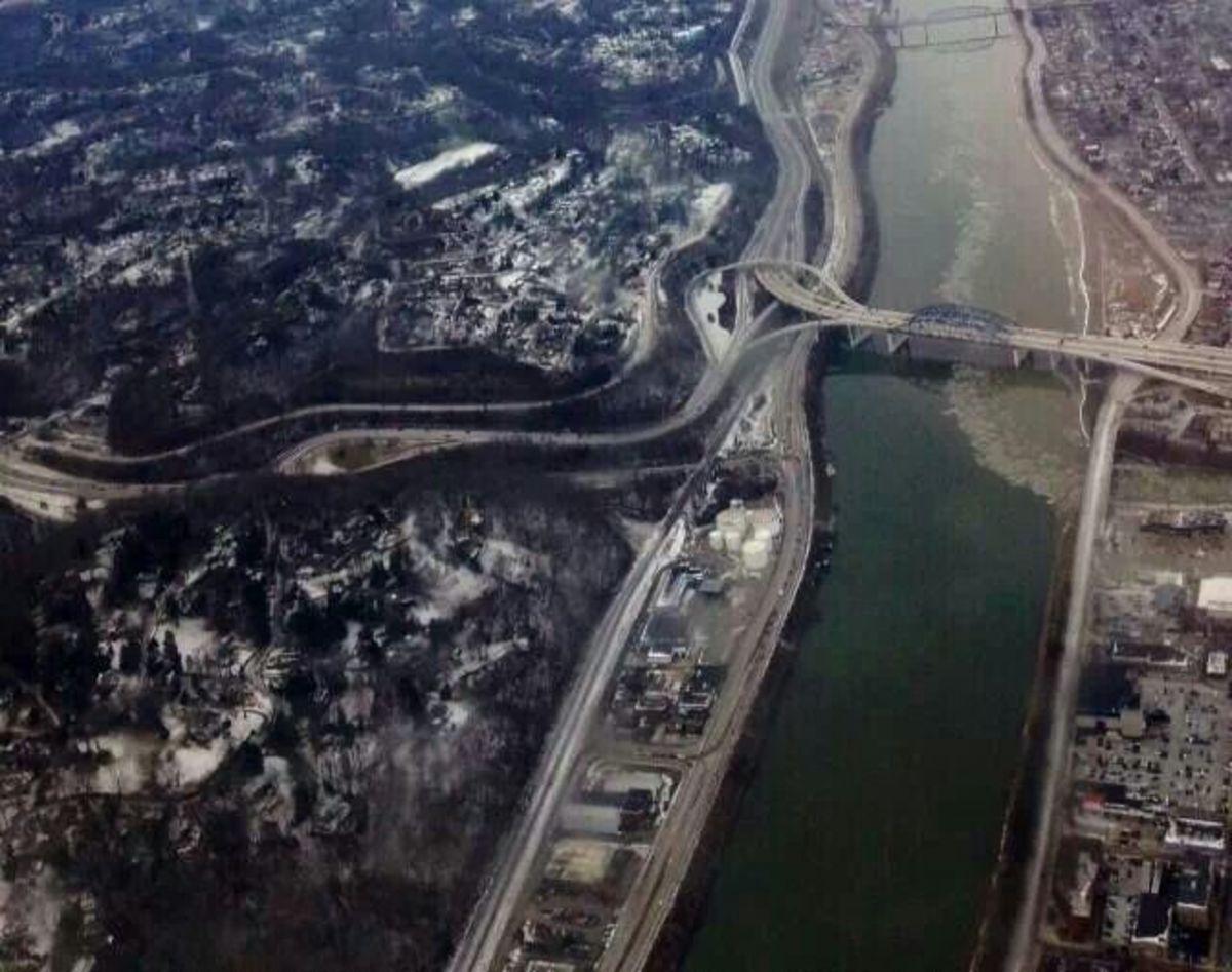 Chemical leak on the Elk River