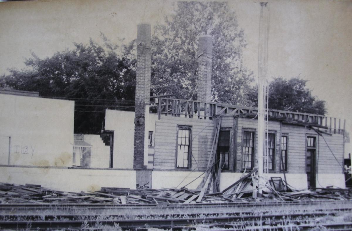 Demolition of the KCS Depot