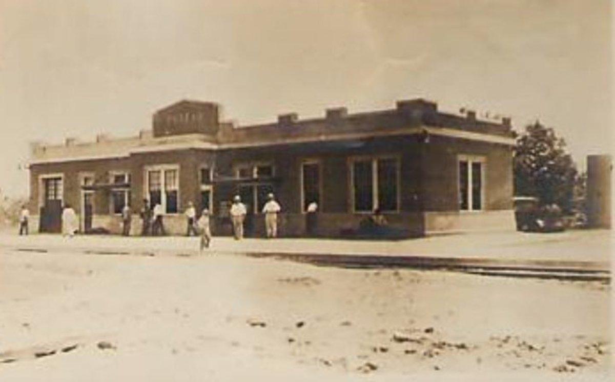 Frisco Depot, 1910's