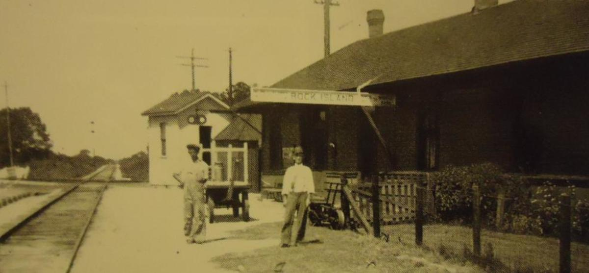 Rock Island Railroad Depot