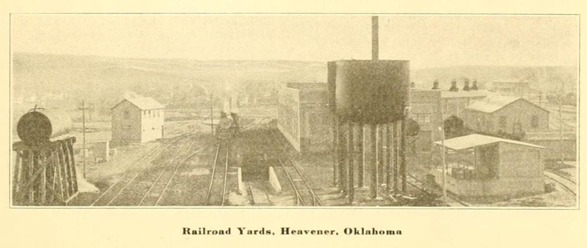 Railroad Yards in Heavener