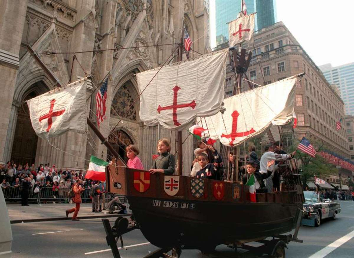 Many places like New York City celebrate Columbus Day with a parade