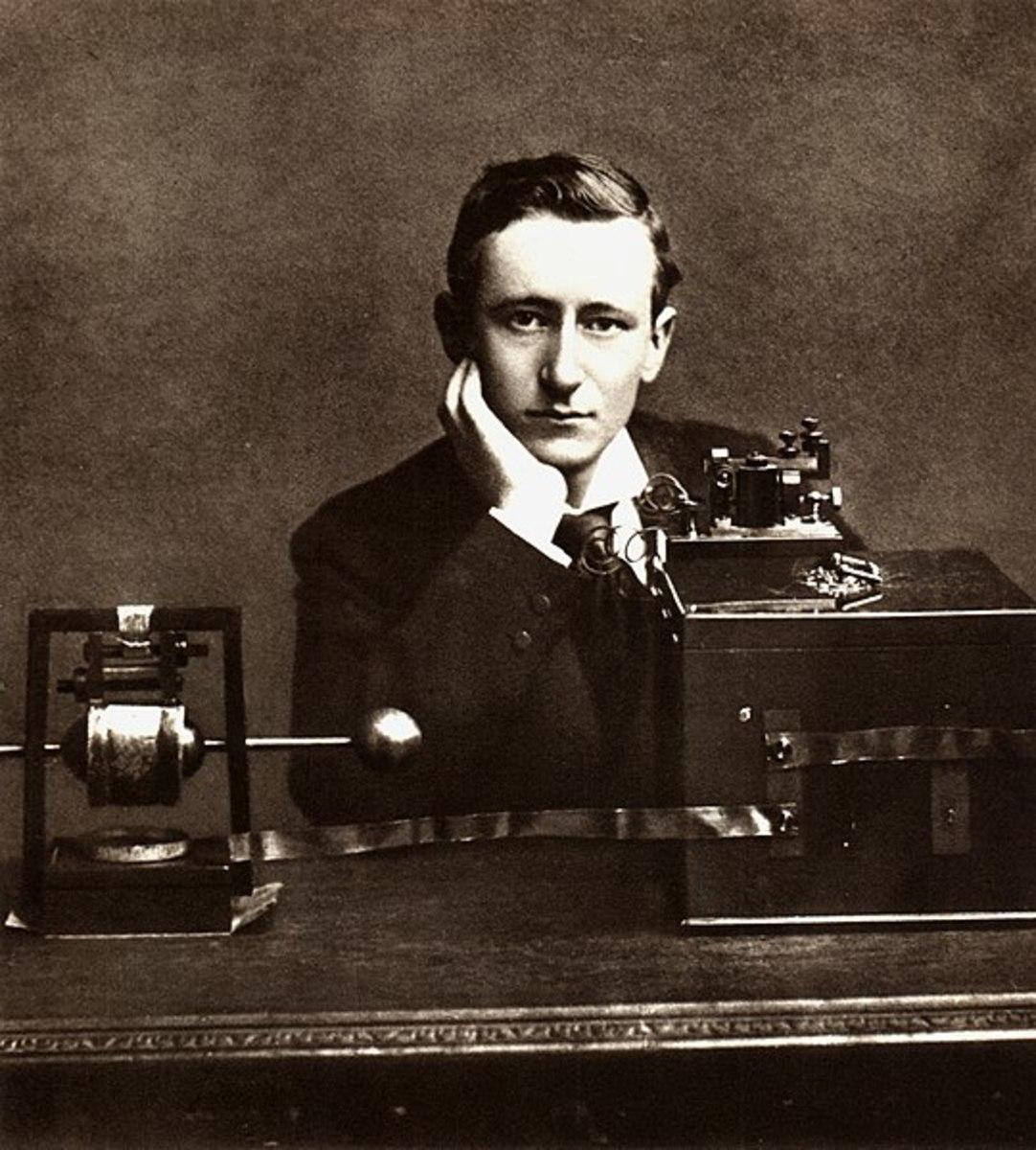 Guglielmo Marconi.