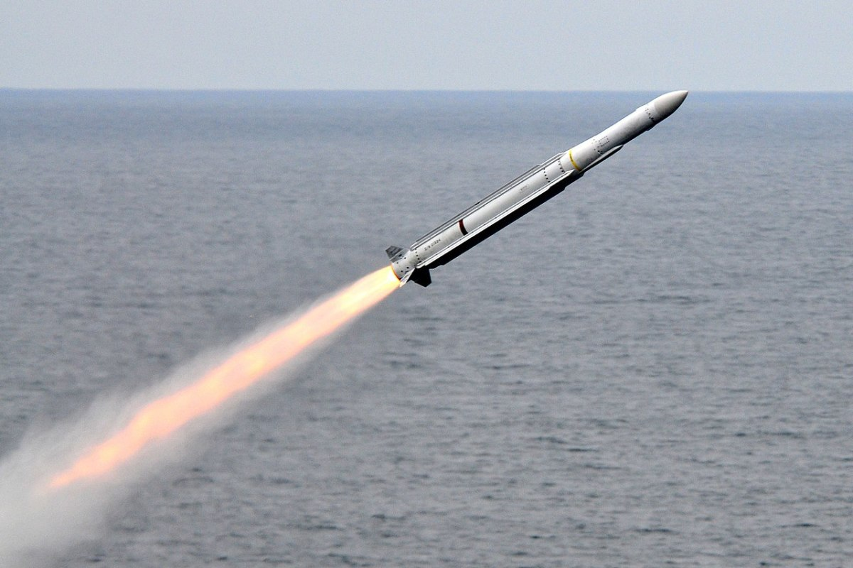 Evolved Sea Sparrow Missile Launch