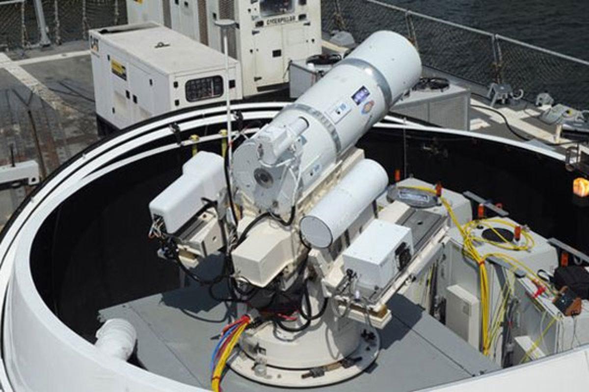 Naval Laser Defense Turret