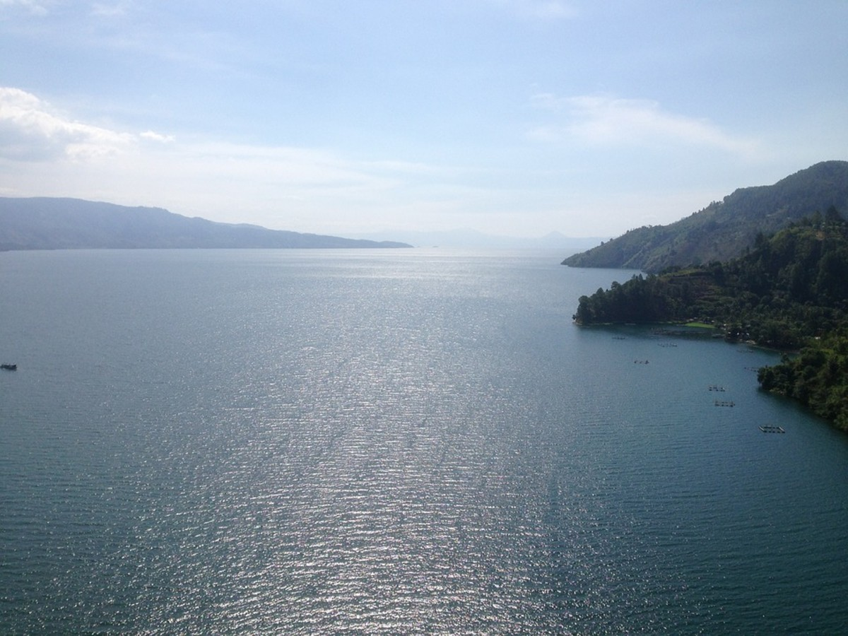 Lake Toba that used to be Mount Toba.