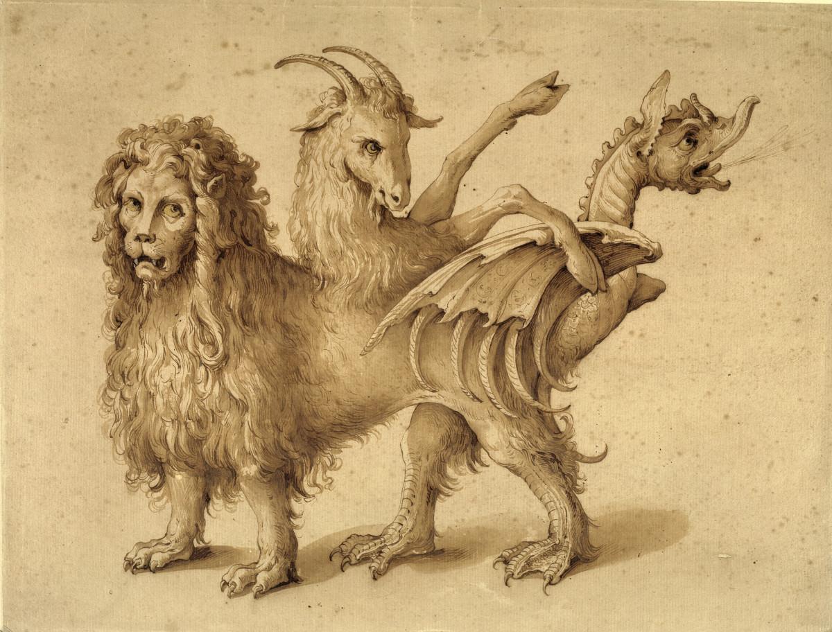 Ligozzi's Version of a Chimera