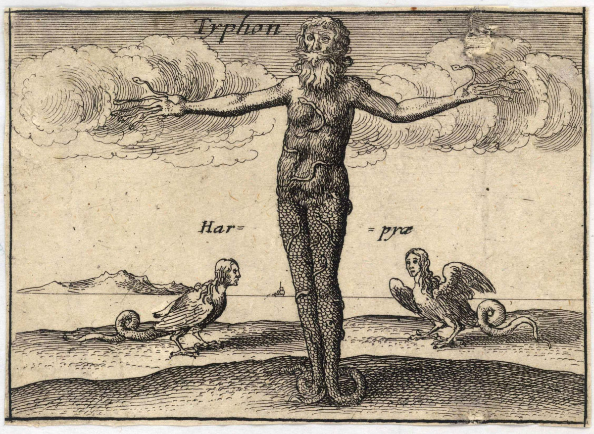 Wenceslaus Hollar's version of Typhon