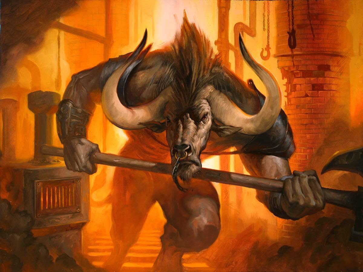 Minotaur vs Hydra 13759730_f520