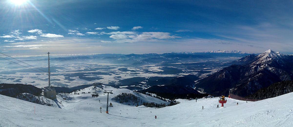 Krvavec Ski Slope