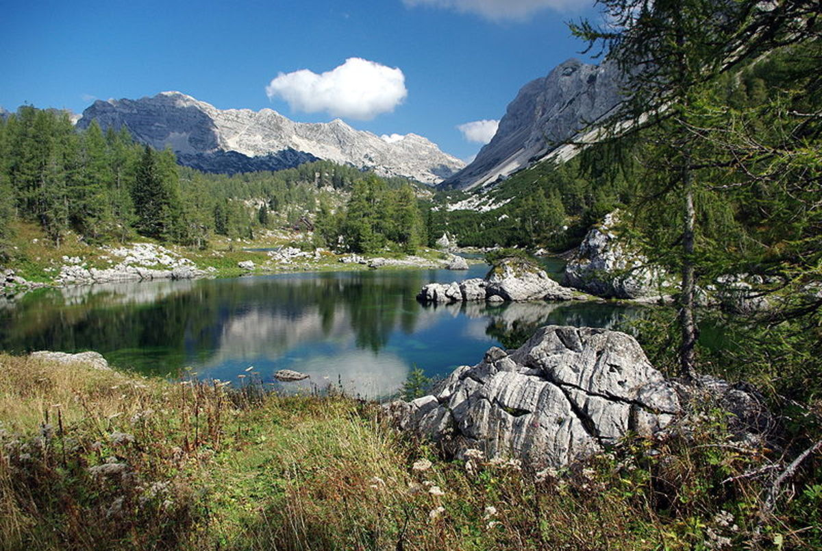 Double Lake - Triglav Lakes Valley