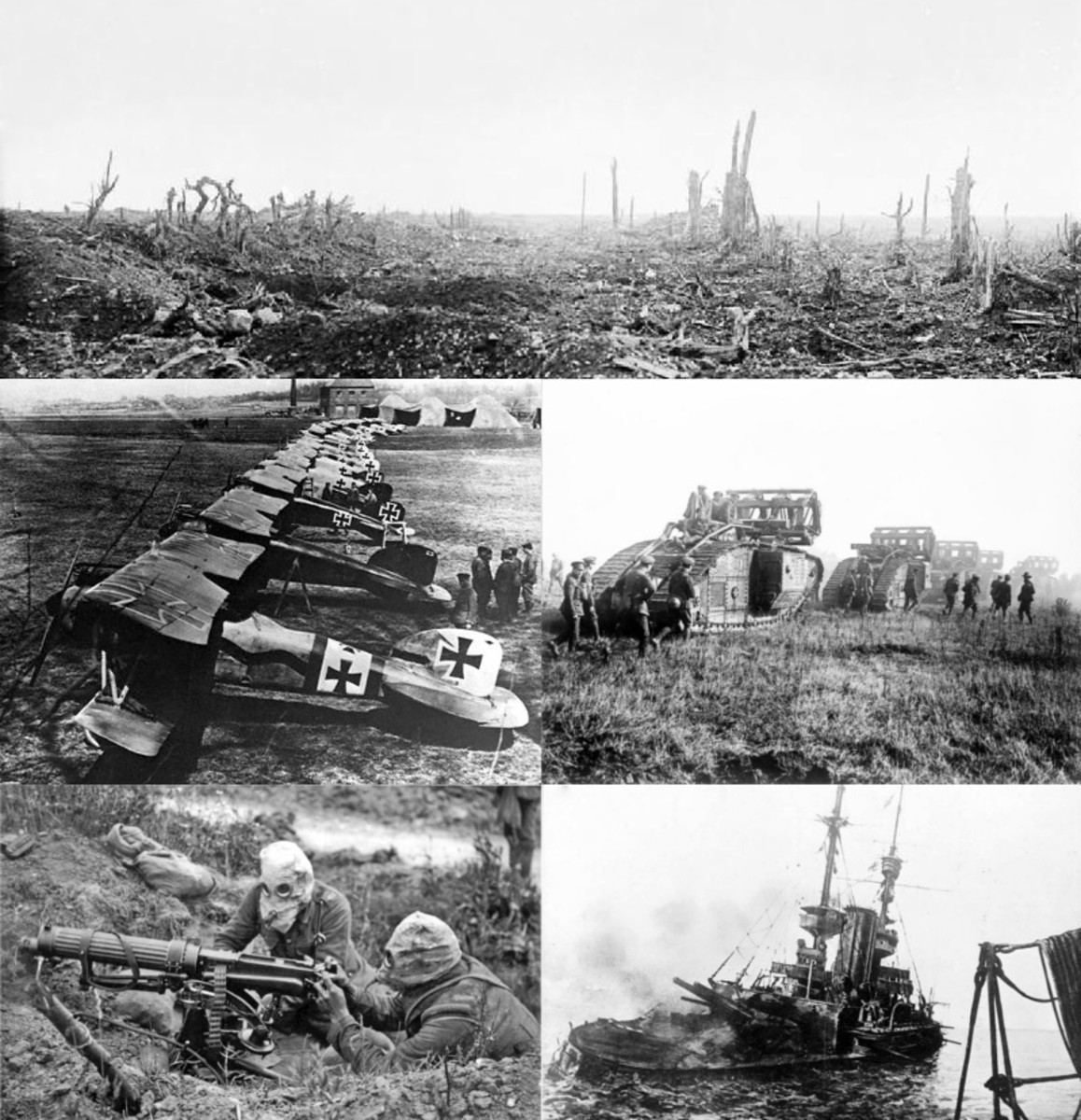 World War I Photos.