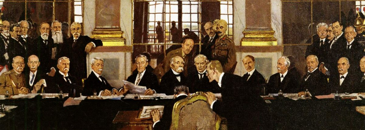 Portrait of Paris Peace Conference (1919).
