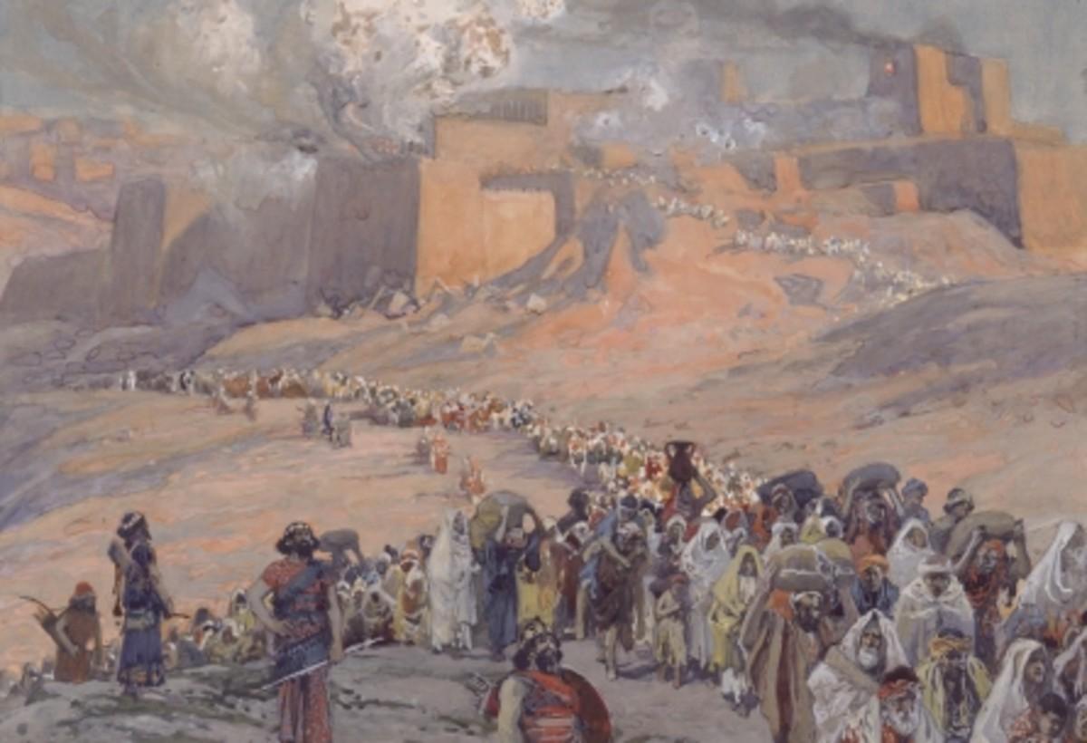 The Babylonian Captivity - Tissot