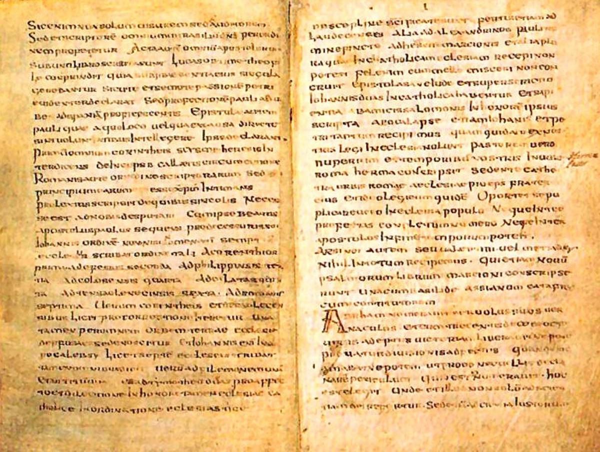 The Muratorian Fragment