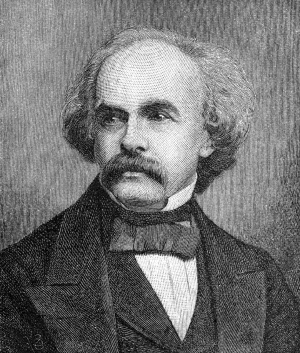 Nathaniel Hawthorne was a young man, when the age of photography arrived