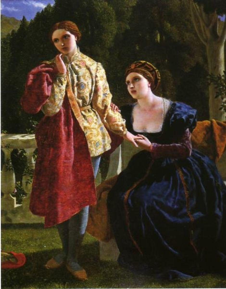 Viola and Olivia  (Twelfth Night)