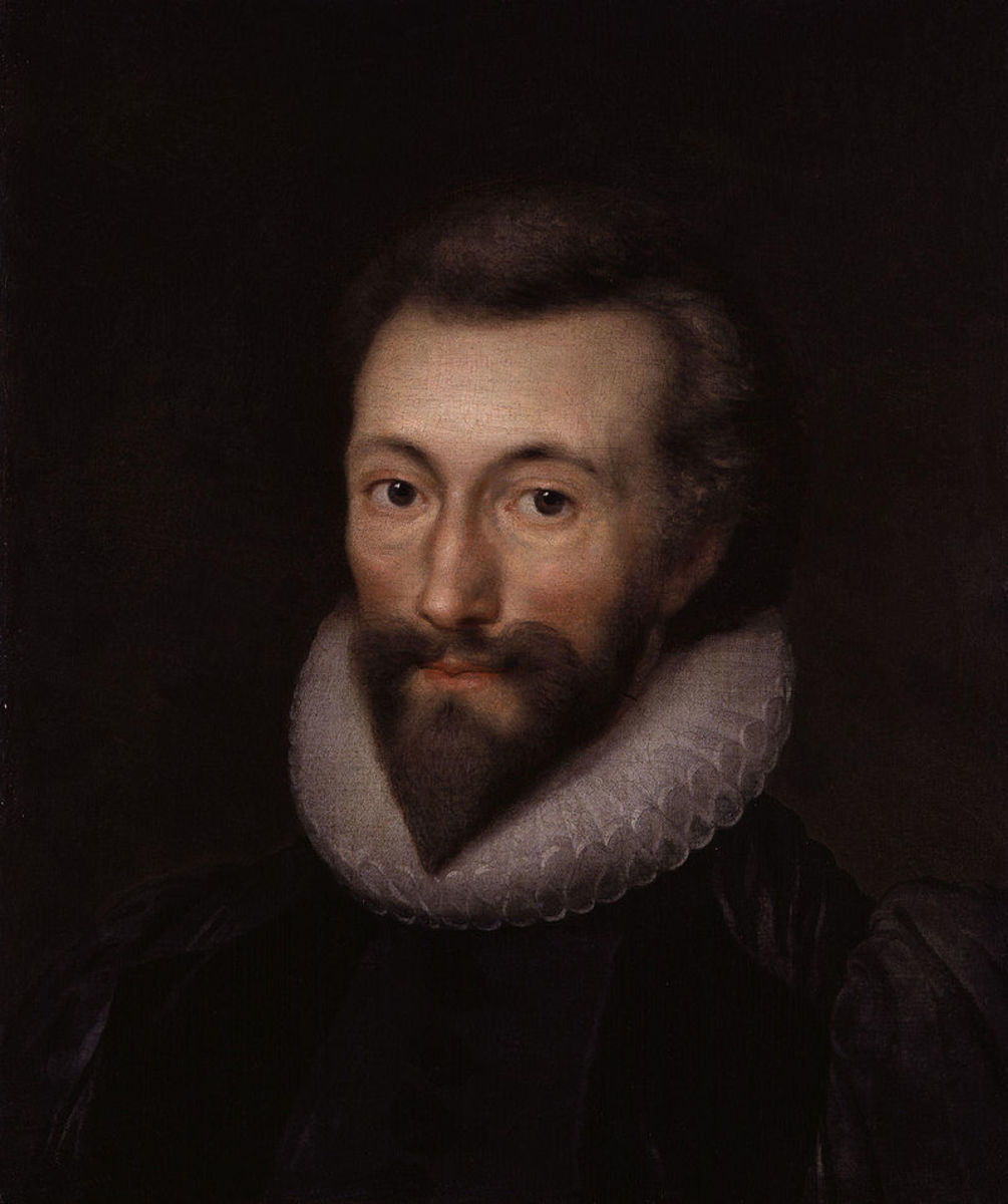 "John Donne (1572-""1631) was an English poet and cleric in the Church of England. He is considered the pre-eminent representative of the metaphysical poets."