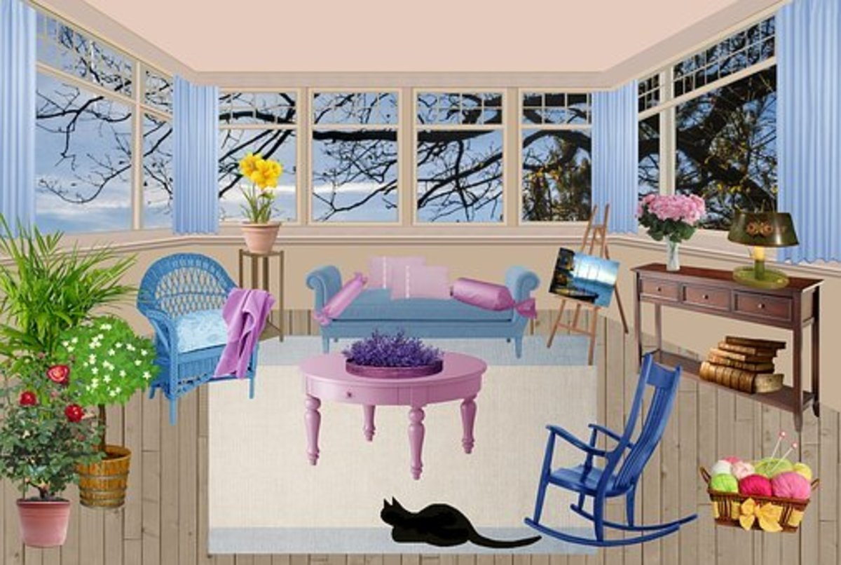As Nervous as a Cat in a room full of rocking chairs - idiom