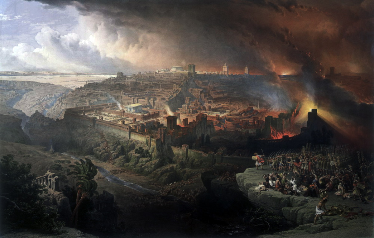 Siege and Destruction of Jerusalem - Roberts