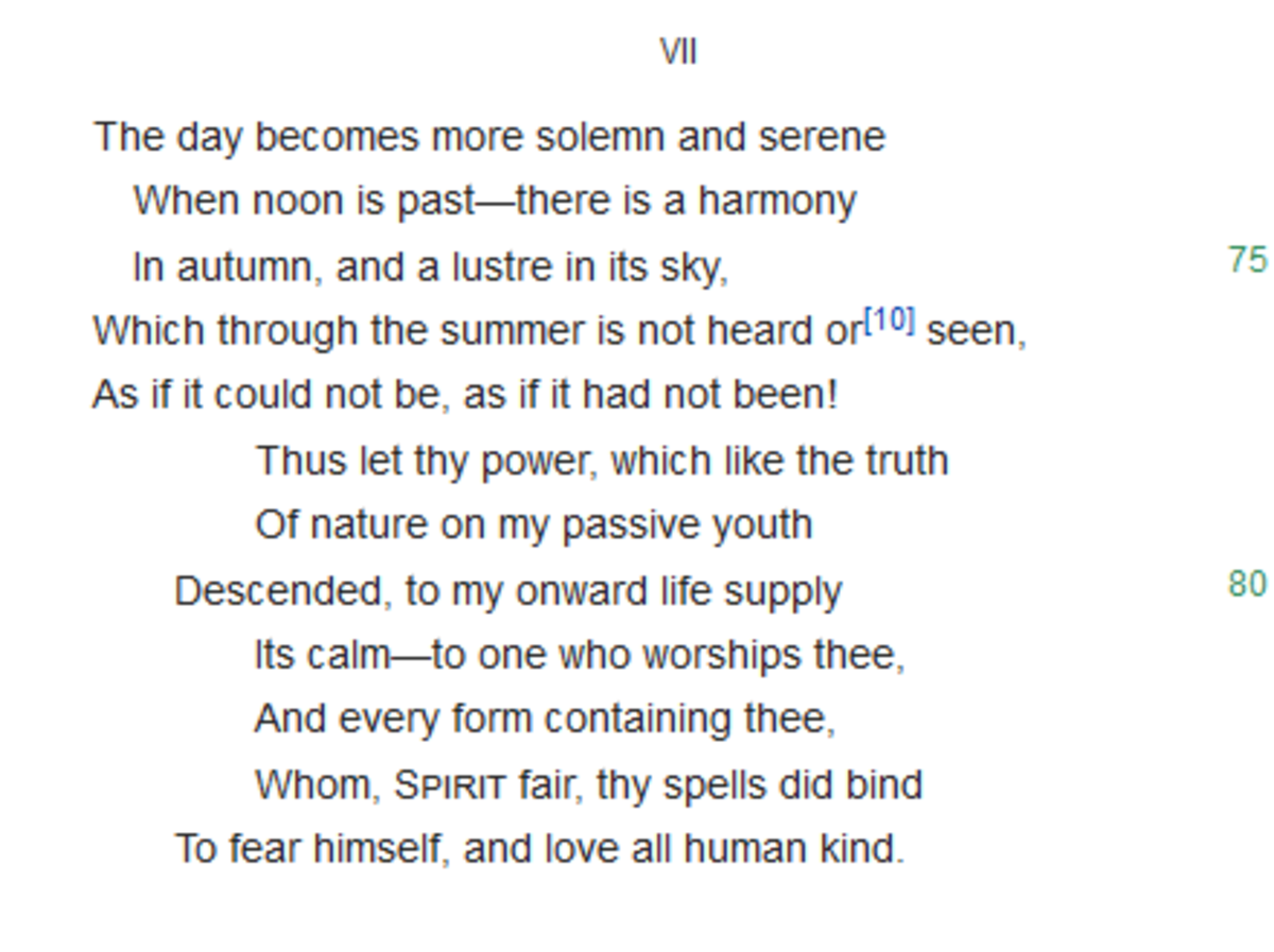 Hymn to Intellectual Beauty By Percy Bysshe Shelley
