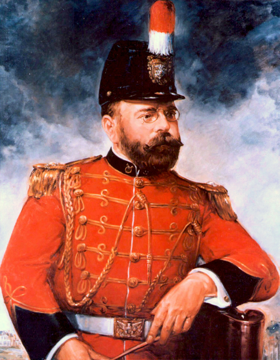 John Philip Sousa was the 17th conductor of the United States Marine Band.