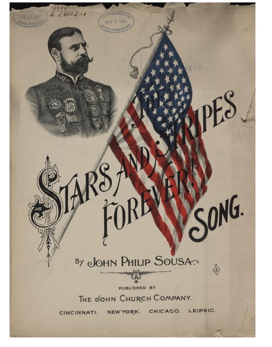 The Stars and Stripes Forever Song - Lyrics written by John Philip Sousa