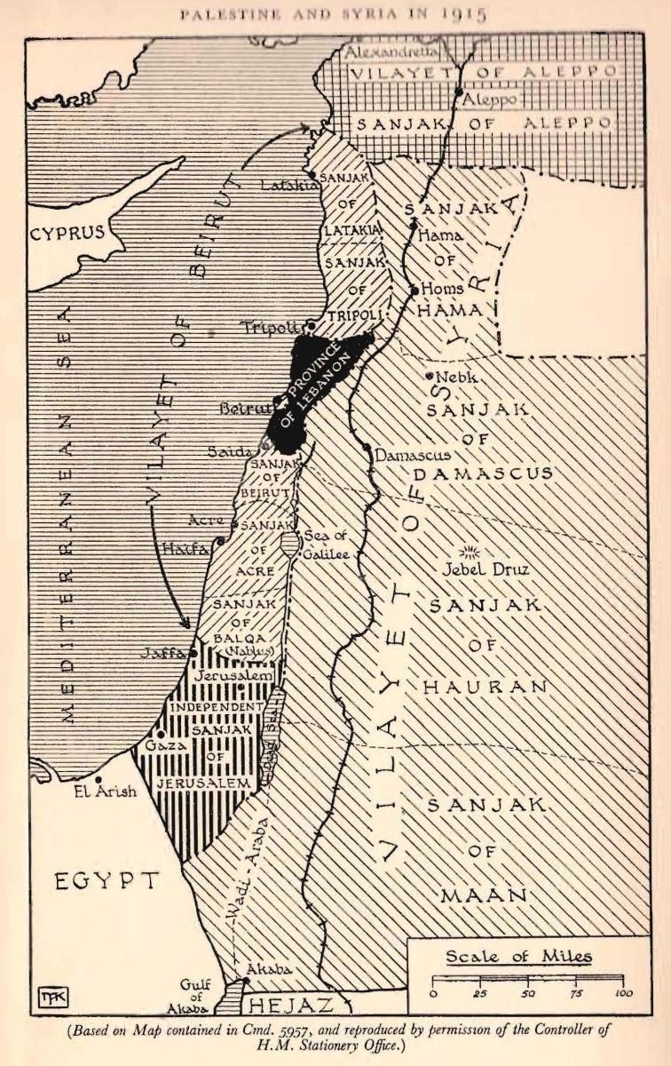 Palestine circa 1915