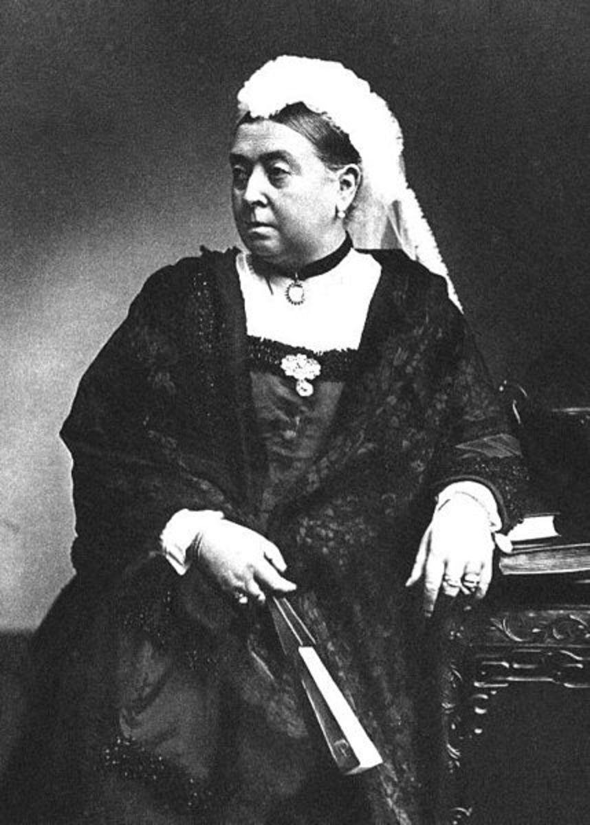 Queen Victoria in 1890.